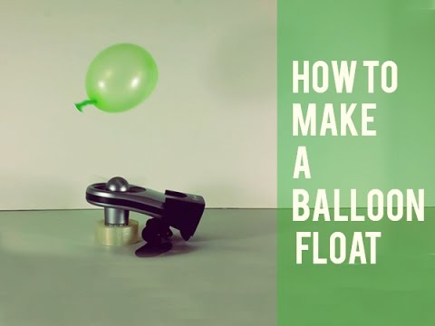 BLOW YOUR MIND - How to Make a Balloon Float Forever (Experiment DIY)