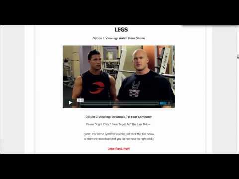 MI40 Discount - Ben Pakulski Bodybuilding Workout Routine