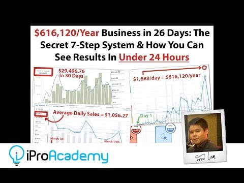 [Free Training] How To Go From ZERO To $2K Per Day In Just 26 Days!