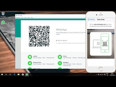 WhatsApp on PC Officially Download Without Emulator on Windows 10 (2016)