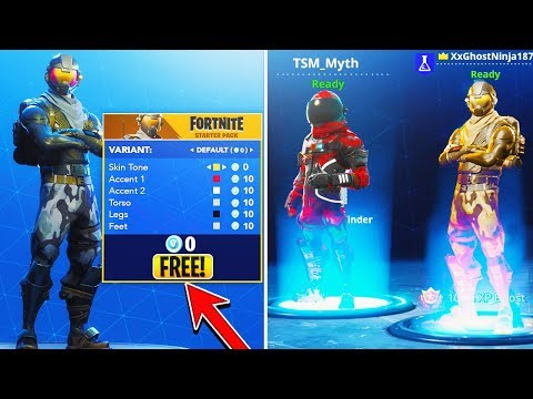 How To CUSTOMIZE ALL FREE SKINS Update in Fortnite! - NEW SKINS Fortnite Battle Royale NEW UPDATE!