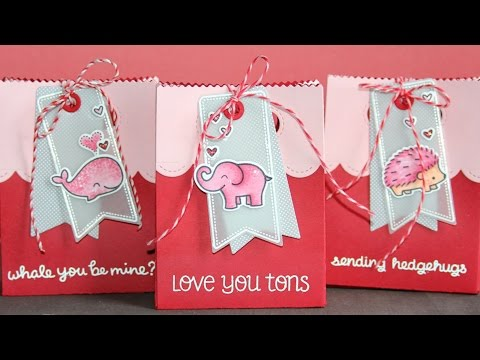 How to make Valentine's Day goodie bags