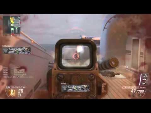 PS3 - Black Ops 2 - LMG Quadfeed Fury Kill