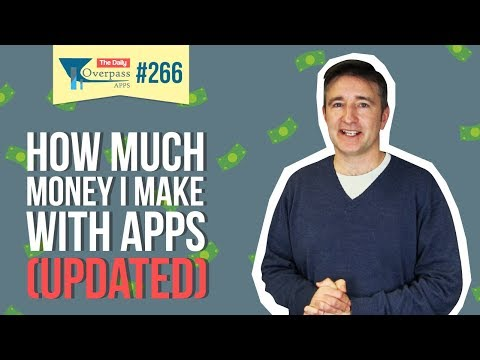 How Much Money I Make with Apps (Updated)