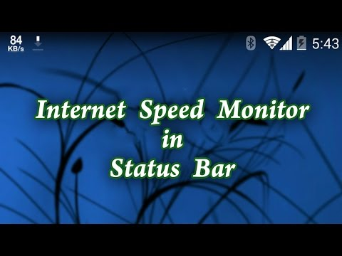 How to Enable Internet Speed Meter Feature in Mobile.
