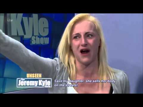 Unseen  'Most Disgusting Drug Addict Ever'   The Jeremy Kyle Show