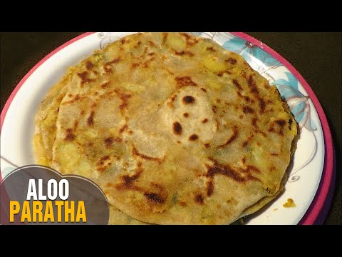 How to make popular punjabi aloo paratha recipe in telugu | Aloo Paratha by latha channel