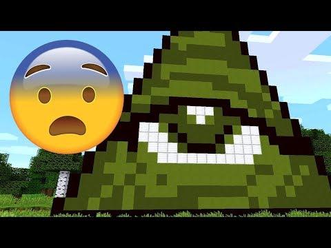 SCARY ALL SEEING EYE MINECRAFT SEED! (Illuminati Minecraft Seed)