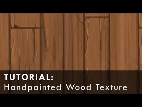 Hand-Painting/Tiling Wood Textures