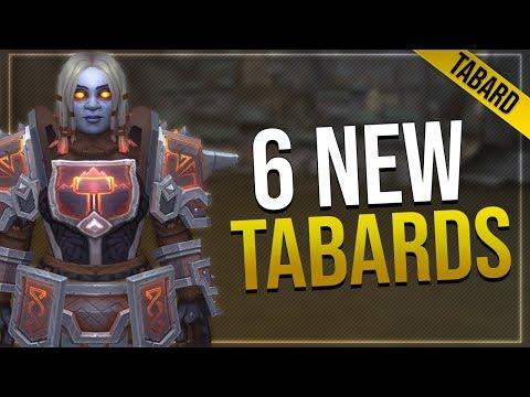 Battle for Azeroth Tabards   Dark Iron, Mag'har Orc, Zandalari Empire & More!