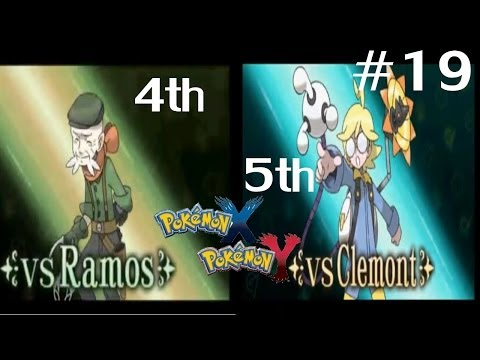 Pokemon Y Walkthrough Episode 19 LIVE! w/Facecam - 4th and 5th Gym Leaders VS Ramos & VS Clemont!