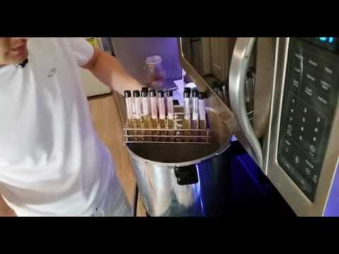 Pouring Agar Plates and Slants - Part 1