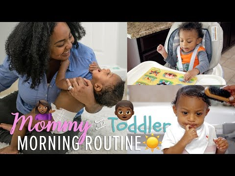 MORNING ROUTINE | Mommy & Toddler | Get Ready with Us