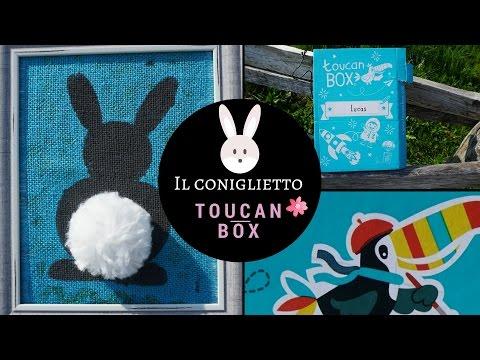 Toucan Box - Burlap Bunny - Il coniglietto!