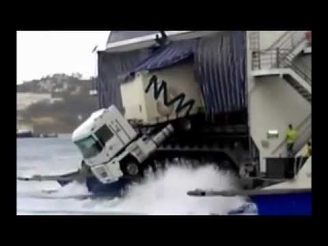 Ferry Boat Truck Parking Fail