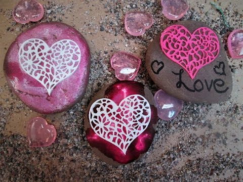 Sweetheart Inspirational Rocks ~ Featuring Miriam joy