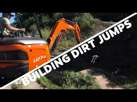 Building Dirt Jumps with Pathfinder Trail Building
