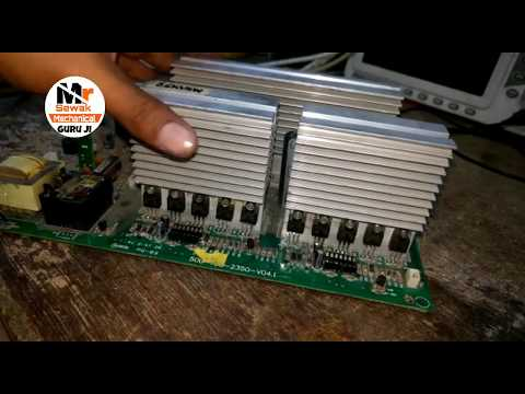 Microtek sine wave not charge 48V 3.5KVA not charge