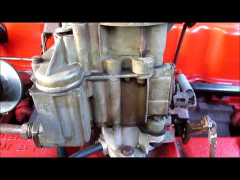 1968 Chevy II Nova 230 Engine Leaking Carb Repaired
