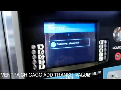 Chicagowalker :How to add value cta ventra card chicago