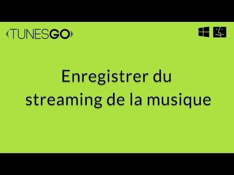 Wondershare TunesGo: Enregistrer de Streaming de la Musique