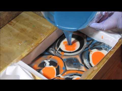 Making Cold Process Soap: Dusk to Dawn ~ Petals Bath Boutique