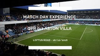 Groundhop at Loftus Road - Queens Park Rangers vs. Aston Villa - AMAZING VILLA SUPPORT