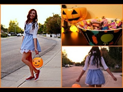 Adorable Dorothy DIY Costume! + Glitter your shoes!