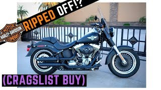 Why I Bought a Club Style Harley off Craigslist | Walk