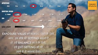 Exposure triangle - Aperture, Shutter Speed and ISO   DSLR Hindi Photography Tutorial Episode 5