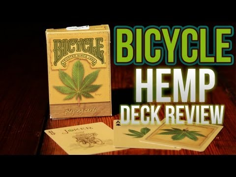 Deck Review - Bicycle Hemp Deck Of Playing Cards