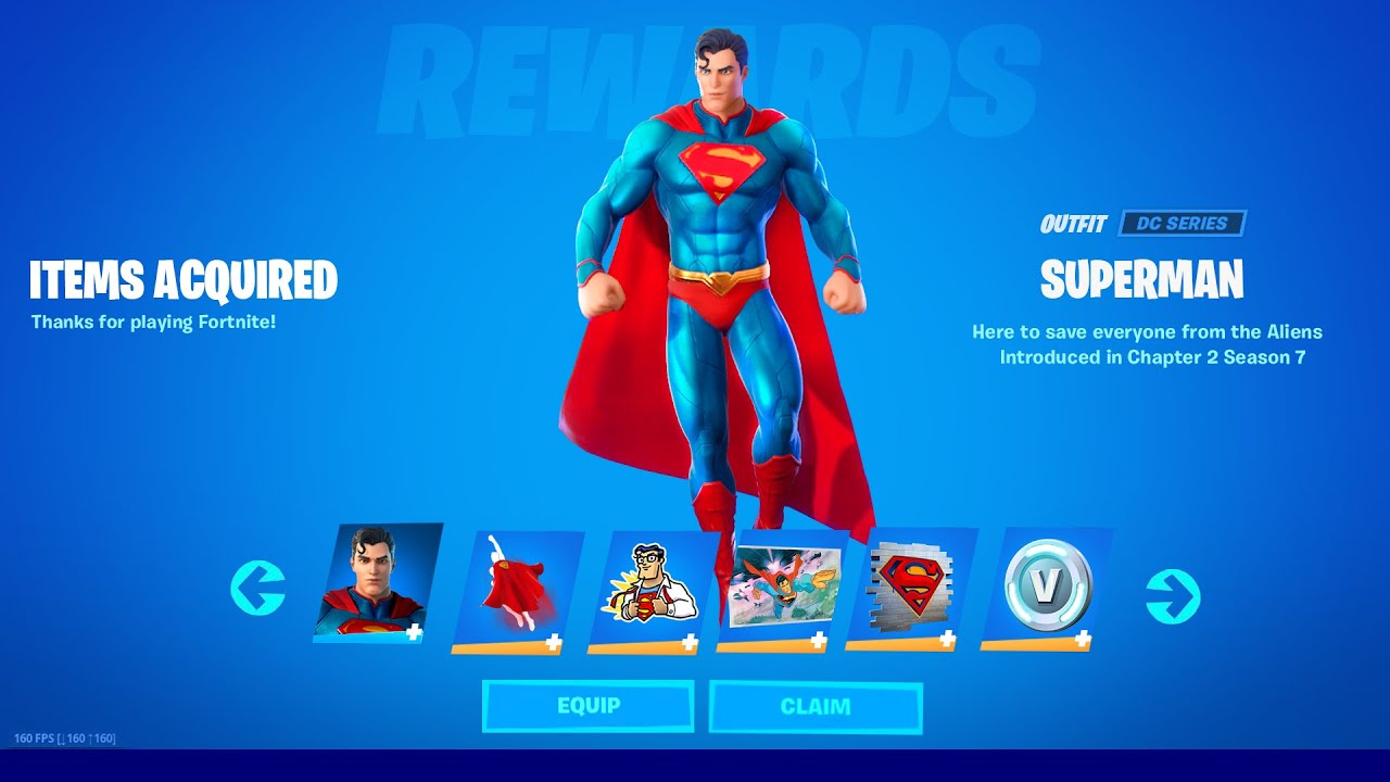 HOW TO GET FREE SUPERMAN SKIN IN FORTNITE SEASON 7! (NEW)