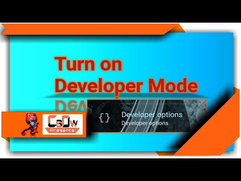 [ Hindi ] Turn On DEVELOPER MODE In Your Andriod Phone. What Is Benifit.