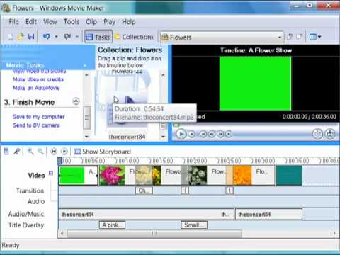 Saving Movie Maker Projects and WMV files.mp4
