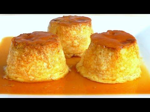 Christmas dessert Creme Caramel - Custard Puddings How to make Leche Flan recipe