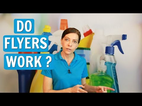 Are Flyers Effective for Getting Cleaning Jobs?