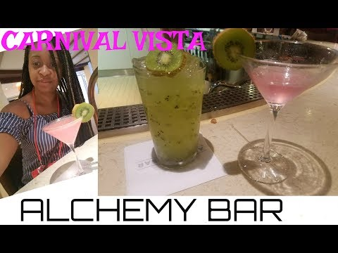 Are Drink Packages Worth It? ALCHEMY BAR on Carnival Vista Cruise-Tips & Secrets