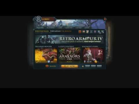 Runescape: New lobby screen and bond pouch!