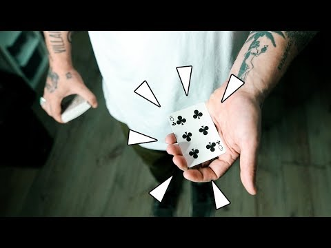 How to STEAL a playing card from the deck! - Sleight of Hand Tutorial