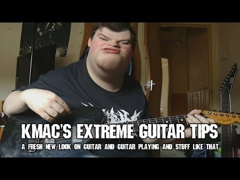 Kmac's Extreme Guitar Tips! How to Sweep Pick!!