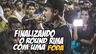 FINALIZANDO O ROUND COM UMA RIMA FODA ● HD