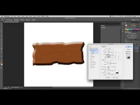 How to Create Wooden Effect in Adobe Photoshop