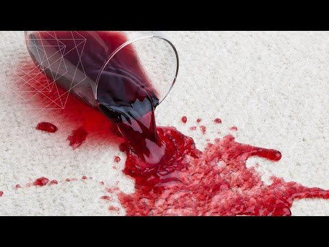 ✔ HOW TO WITHDRAW STAINS FROM WINE AND BERRIES?