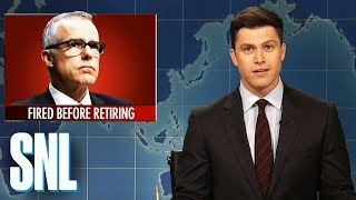 Weekend Update on Andrew McCabe