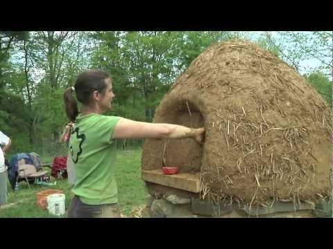 How to Build a Cob Oven - Part Three