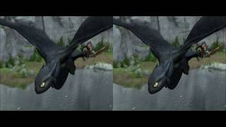 How To Train Your Dragon Trailer 3d Version