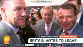 Good Morning Britain EU Referendum: The Result 6am - Friday 24th June 2016