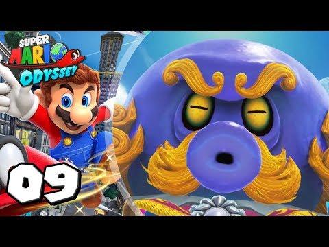 Super Mario Odyssey #9: El pulpo goloso