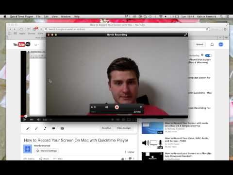 How To Record Yourself with Built In Webcam on Macbook