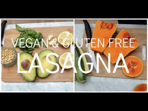 VEGAN GLUTEN FREE LASAGNA || easy plant-based recipe |